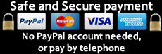 Secured payment options